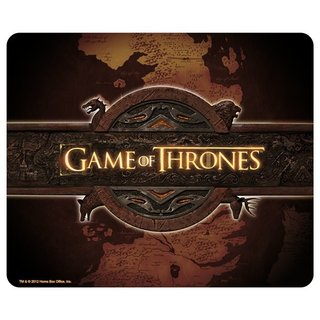 GAME OF THRONES - Mauspad - Logo & Card