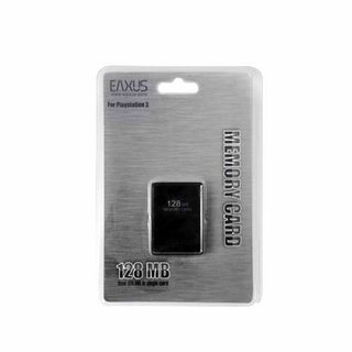 PS2 Playstation2 128 MB Memory Card / Speicherkarte Eaxus