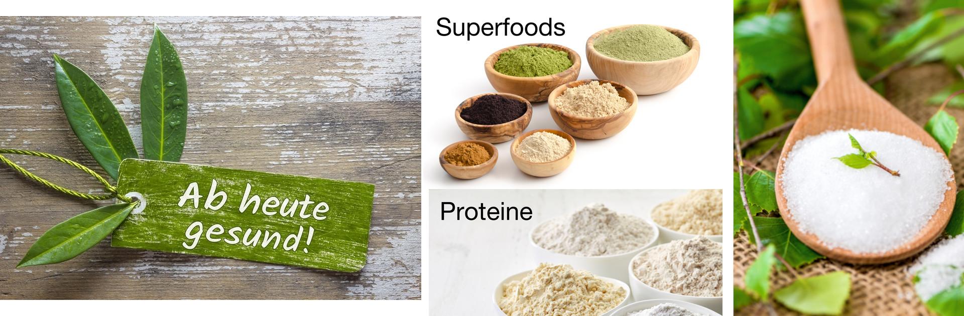 Proteine, Aromen & Fitamine