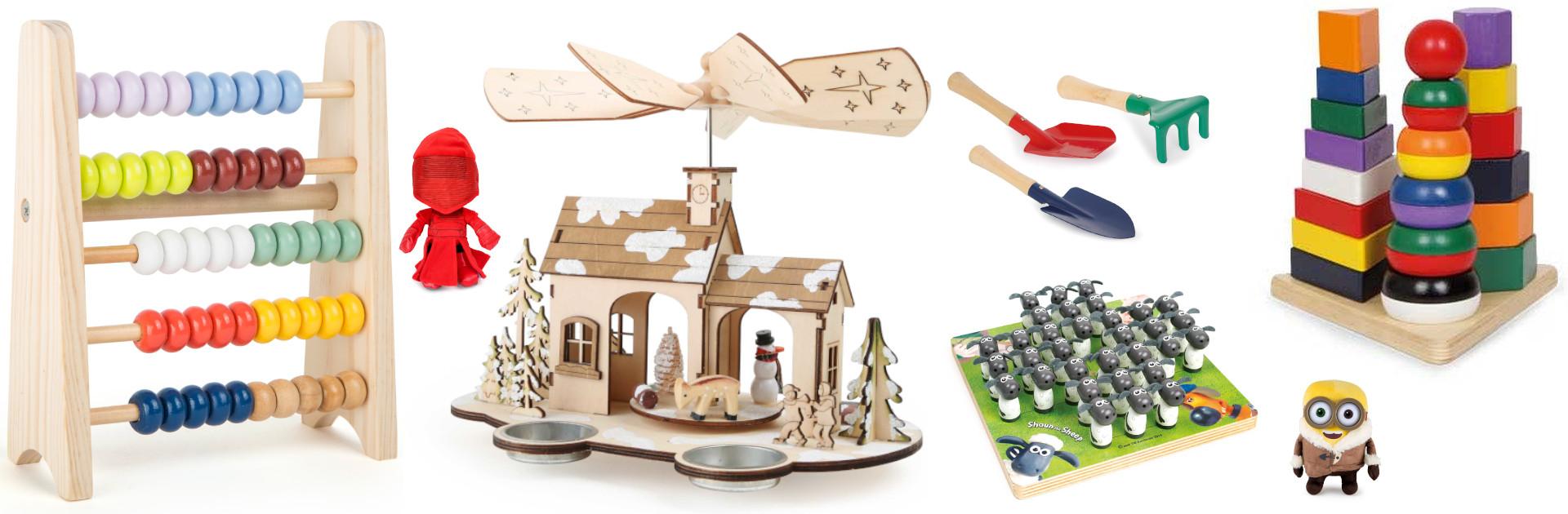 Holzspielzeug und Spielwaren